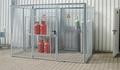 Gasflaschen-Container GFC-M 1, ohne Dach für max.32 Gasflaschen | günstig bestellen bei assistYourwork