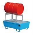 Auffangwanne AS-1 inkl. Fassauflage FA 200 1200x800x835mm, mit Gitterrost, 225l | günstig bestellen bei assistYourwork