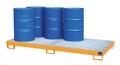 Auffangwanne AW-8, lackiert, für 8 200l Fässer, mit Gitterrost | günstig bestellen bei assistYourwork