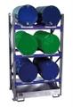 Fassregal 3002 Grundregal mit 3 Ebenen für 6 liegende 200l Fässer | günstig bestellen bei assistYourwork