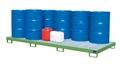 Auffangwanne AW-10, lackiert, für 10 200l Fässer, mit Gitterrost | günstig bestellen bei assistYourwork