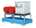 KTC - Station AWA 1000-2, lackiert, für 2 1000l IBCs, mit Abfüllaufsatz | günstig bestellen bei assistYourwork