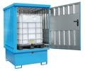 Gefahrstoff-Depot GD-E-IBC, mit zusätzlicher Außenlackierung, für 1 1000-l-IBC | günstig bestellen bei assistYourwork