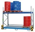 Palettenregal-Set PR Set 1 lackiert für max.12x200-l-Fässer | günstig bestellen bei assistYourwork