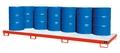 Auffangwanne AW-12, lackiert, für 12 200-l-Fässer, mit Gitterrost | günstig bestellen bei assistYourwork