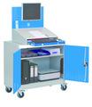 Computerwagen 04.680.C02A mit Rollen BxTxH 1000x500x1610mm | günstig bestellen bei assistYourwork