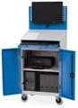Mobiler Computerschrank 04.680.C125A BxTxH 680x500x1610mm | günstig bestellen bei assistYourwork