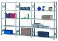 Fachbodenregal - Grundregal 05.1005G, BxTxH 1000x500x2000mm, Fachlast 230kg | günstig bestellen bei assistYourwork