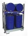 Fassregal 3008 Grundregal für 2 liegende & 4 stehende 200l Fässer | günstig bestellen bei assistYourwork