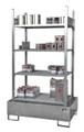 Kleingebinderegal Grundregal 3021-4E mit 4 Ebenen | günstig bestellen bei assistYourwork