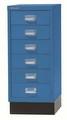 Schubladenschrank MultiDrawer L296S, mit Sockel 6 Schubladen, 29er Serie | günstig bestellen bei assistYourwork