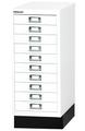 Schubladenschrank MultiDrawer L2910S, 29er Serie, 10 Schubladen, mit Sockel | günstig bestellen bei assistYourwork