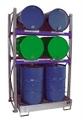 Fassregal 3010 Grundregal für 4 liegende & 4 stehende 200l Fässer | günstig bestellen bei assistYourwork