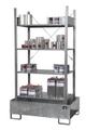 Kleingebinderegal Grundregal 3022-4E mit 4 Ebenen | günstig bestellen bei assistYourwork