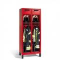 Evolo Feuerwehrschrank 1-100444, mit Füßen 1 Abteil, Wertfach und klappbarem Helmhalter | günstig bestellen bei assistYourwork