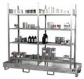 Kleingebinderegal Grund- und Anbauregal 3023-4E mit 4 Ebenen | günstig bestellen bei assistYourwork