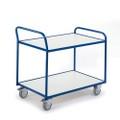ESD Tischwagen mit 2 Etagen 08-7425ESD Ladefläche LxB 790 x 490 mm | günstig bestellen bei assistYourwork