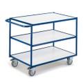 ESD Tischwagen mit 3 Etagen 08-7433ESD Ladefläche LxB 790 x 490 mm | günstig bestellen bei assistYourwork