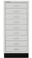 Schubladenschrank MultiDrawer L39A33S, mit Sockel, 9 Schubladen, DIN A3 | günstig bestellen bei assistYourwork