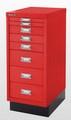Schubladenschrank MultiDrawer L298S, mit Sockel 29er Serie, 8 Schubladen | günstig bestellen bei assistYourwork