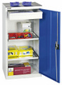 Werkzeug-Materialschrank 2001107 HxBxT 1000x500x500mm, Teleskopauszug | günstig bestellen bei assistYourwork