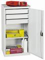 Werkzeug-Materialschrank 2001307 HxBxT 1000x500x500mm, Teleskopauszug | günstig bestellen bei assistYourwork