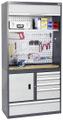 Arbeitsplatzsystem Praktimo 440-120-0-4-204 HxBxT 2050x1000x500mm | günstig bestellen bei assistYourwork