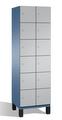 Fächerschrank S 6000 CAMBIO, 6 Fächer hoch, 6x2 Abteile á 400mm, Stahltüren einwandig | günstig bestellen bei assistYourwork