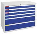 MovaFlex 500 Schubladenschrank 7905107 HxBxT 900x1000x500mm, 6 Schubladen | günstig bestellen bei assistYourwork