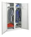 Garderobenschrank 7947007, HxBxT 1800x1000x500mm, 4 verzinkte Fachböden, Garderobenstange | günstig bestellen bei assistYourwork
