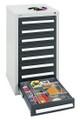 Schubladenschrank Serie T100-35, 8151171 8 Schubladen mit Teleskopauszügen | günstig bestellen bei assistYourwork