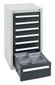 Schubladenschrank Serie T100-35, 8151271 7 Schubladen mit Teleskopauszügen | günstig bestellen bei assistYourwork