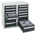 Schubladenschrank Serie T100-35, 8152671 12 Schubladen mit Teleskopauszügen | günstig bestellen bei assistYourwork