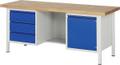 Werkbank Basic-8 A3-8555I2-20H, höhenverstellbar, HxBxT: 840-1040 x 2000 x 700 mm | günstig bestellen bei assistYourwork