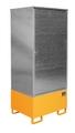 Gefahrstoff-Schrank GS-3, verzinkt für 4 200-l-Fässer | günstig bestellen bei assistYourwork