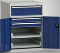 Maschinenbeistellschrank 1000 x 725 x 750 mm, 3 Schubladen 2 Auszugstabelare, Einfachauszug | günstig bestellen bei assistYourwork