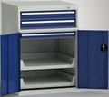 Maschinenbeistellschrank 1000 x 725 x 772 mm, 3 Schubladen 2 Auszugstabelare, Einfachauszug | günstig bestellen bei assistYourwork