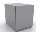 Rollcontainer mit Griffleiste NWA59M7SSS 495x420x565mm | günstig bestellen bei assistYourwork
