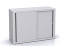 BISLEY Schiebetürenschrank ECO SD412081S HxBxT: 839 x 1200 x 430 mm | günstig bestellen bei assistYourwork