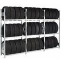 Schulte Reifenregal Grundfeld 13900, HxBxT 2000x1000x400mm, 3 Ebenen | günstig bestellen bei assistYourwork