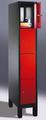 Fächerschrank 8010-104, mit Füßen 4 Fächer übereinander, Abteilbreite 300mm, | günstig bestellen bei assistYourwork