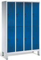 Schließfachschrank 8310-50, mit Füßen 5x2 Abteile, Abteilbreite 300mm | günstig bestellen bei assistYourwork