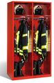 Evolo Feuerwehrschrank 48315-231 2 Abteile á 500mm, ohne Wertfach | günstig bestellen bei assistYourwork