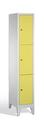Fächerschrank 8010-103, mit Füßen 3 Fächer, Abteilbreite 300mm, | günstig bestellen bei assistYourwork