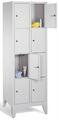Wertfachschrank 8010-204, mit Füßen 2x4 Fächer, Abteilbreite 300mm, | günstig bestellen bei assistYourwork