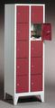 Wertfachschrank 8010-205, mit Füßen 2x5 Fächer, Abteilbreite 300mm, | günstig bestellen bei assistYourwork