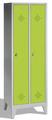 Mehrzweckschrank 8010-20B auf Füßen, 2 Abteile, HxBxT 1850x610x500mm | günstig bestellen bei assistYourwork