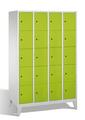 Select Schließfachschrank 1-100286, mit Füßen 4x5 Fächer, Abteilbreite 300mm,   günstig bestellen bei assistYourwork