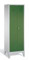 Wäschespind 8012-20B auf Füßen, 2 Abteile, HxBxT 1850x610x500mm | günstig bestellen bei assistYourwork