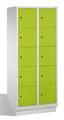 Select Garderobenfächerschrank 1-100299, mit Sockel, 2x5 Fächer, Abteilbreite 400mm, | günstig bestellen bei assistYourwork